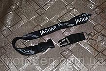 Шнурок на шию для ключів Jaguar чорний