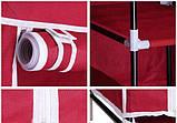Складной тканевый шкаф Hcx Storage Wardrobe 88105 Коричневый, фото 4