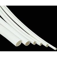 Термоусадочная трубка 3мм белая (1м)