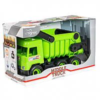 """Игрушечная машинка Авто """"Middle truck"""" самосвал 39482"""