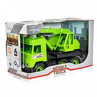 "Игрушечная машинка Авто ""Middle truck"" кран 39483"