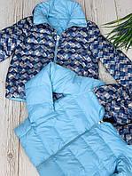 Стильная женская куртка двухсторонняя