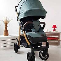 Прогулочная коляска CARRELLO Echo на золотой раме CRL-8508 Emerald Green