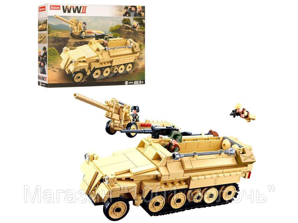 Конструктор Военная техника. SLUBAN M38-B0695. 460 деталей