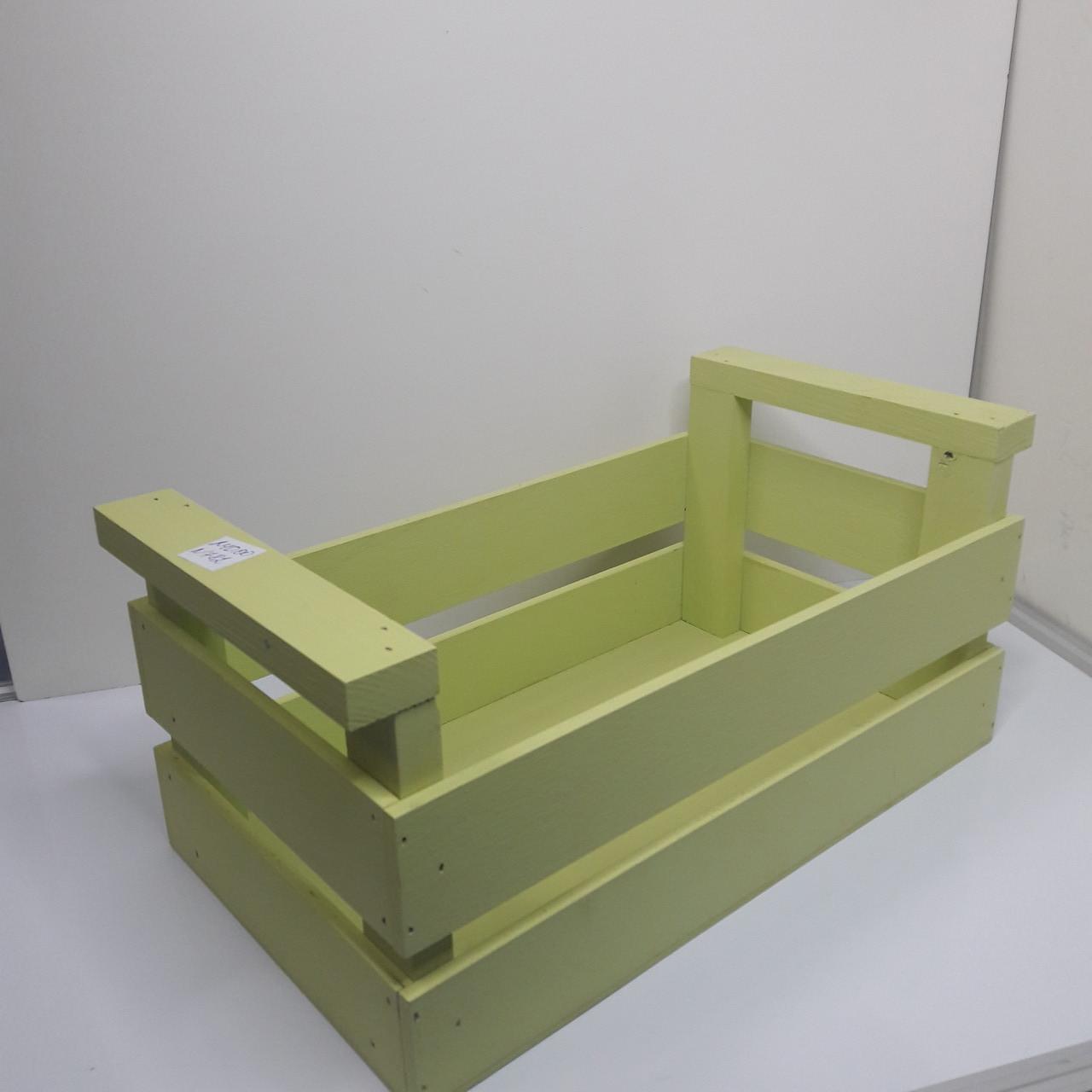 Ящик  из дерева цвет