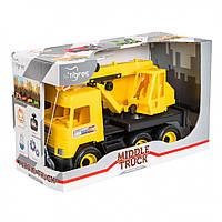 "Игрушечная машинка Авто ""Middle truck"" кран 39491"