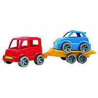 """Маленькие игрушечные машинки Набор авто """"Kid cars Sport"""" (автобус + гольф) 39541"""