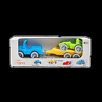 """Маленькие игрушечные машинки Набор авто """"Kid cars Sport"""" (Джип + багги)"""