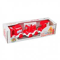"""Маленькие игрушечные машинки Набор авто """"Kid cars"""" пожарный 39547T"""