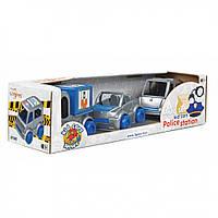 """Маленькие игрушечные машинки Набор авто """"Kid cars"""" полицейский от 1 года"""