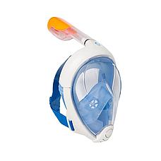 Маска для снорклинга подводного плавания Easybreath, маска на все лицо, TRIBORD/SUBEA, подводная маска, фото 2