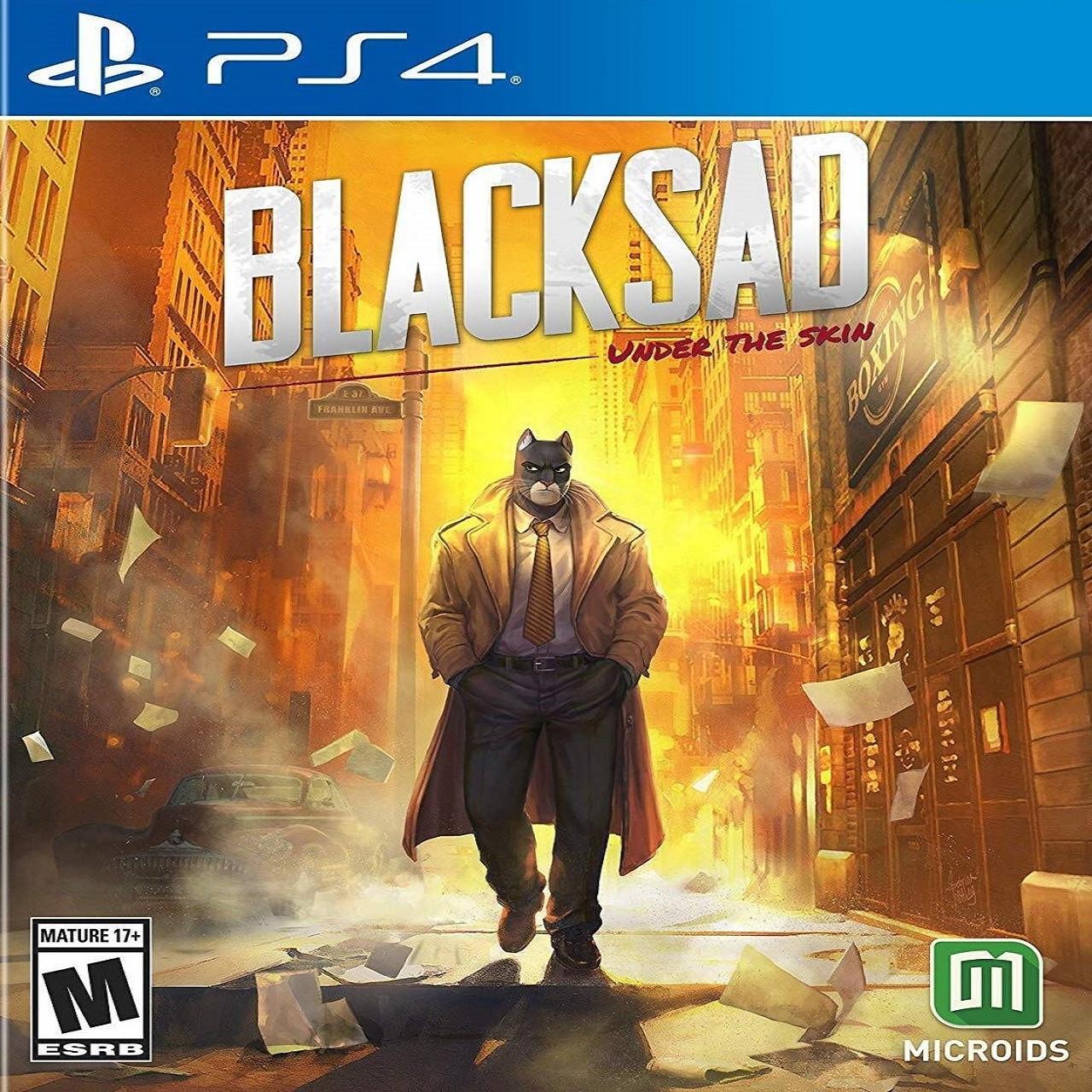 BLACKSAD: Under the Skin Limited Edition ENG PS4 (NEW)