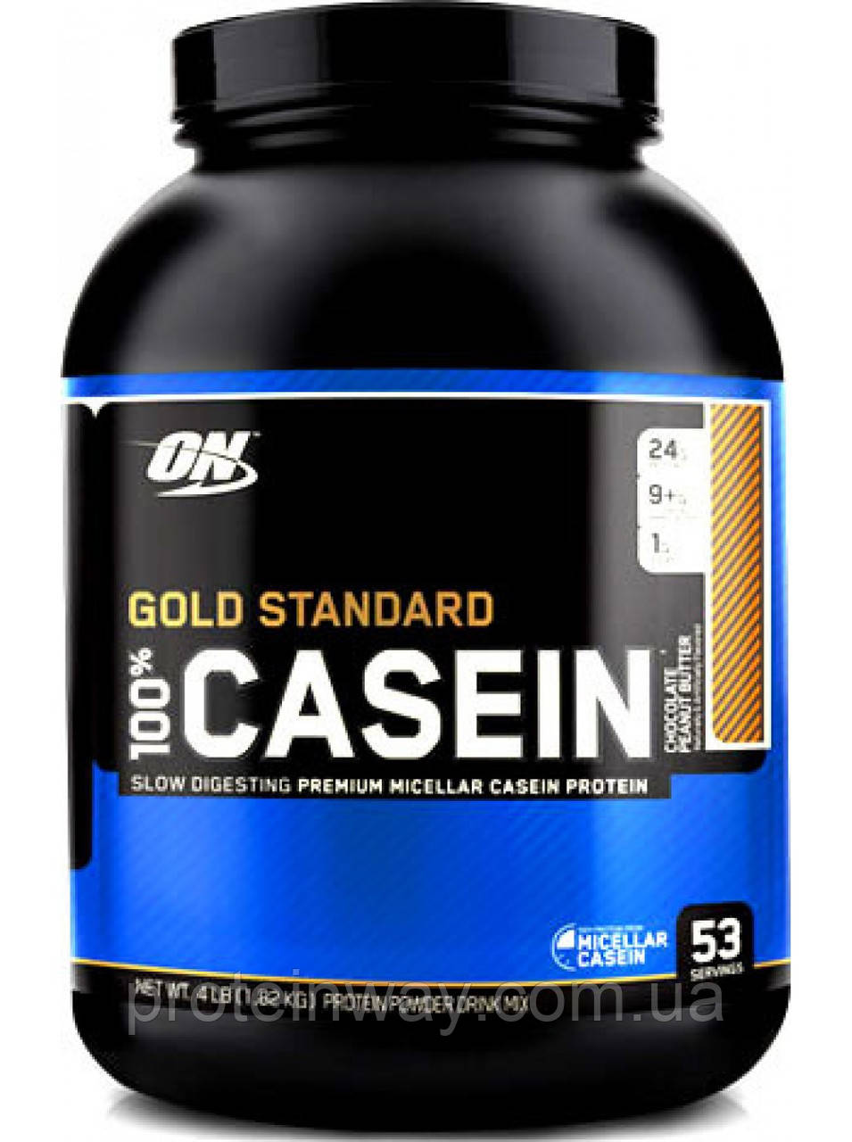Optimum Nutrition Казеин 100% Gold Standard Casein 1800 г