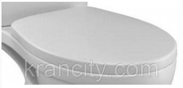 Сиденье с крышкой Jacob Delafon Patio new E4267-00,крышка дюропласт белая
