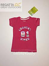 Футболка Regatta на дівчинку 3-4 роки