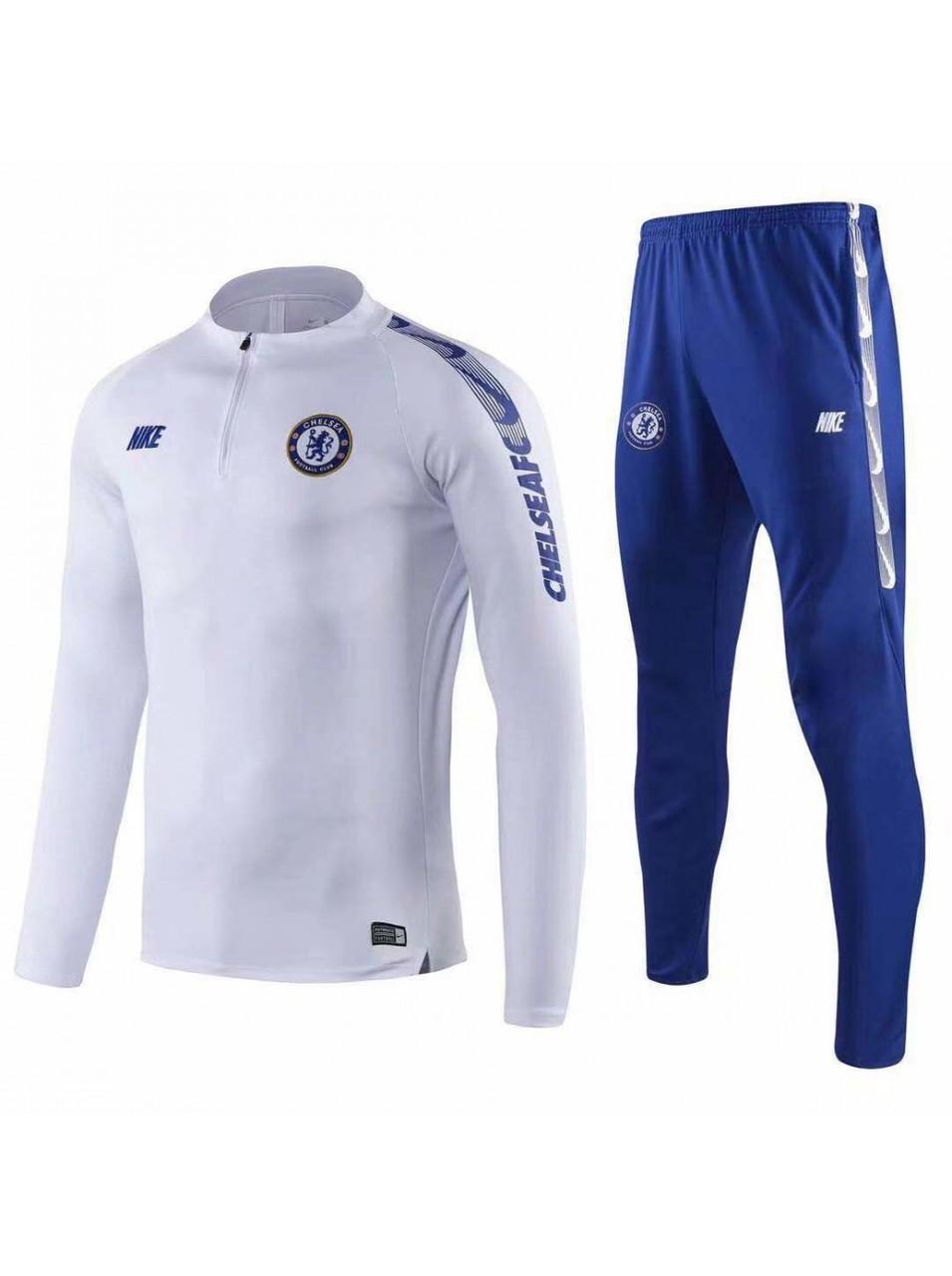 Тренировочный костюм ФК Челси 20/19 white/blue