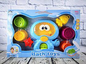 Іграшка Для ванної. Водоспад. Восьминіг В коробці 8820++