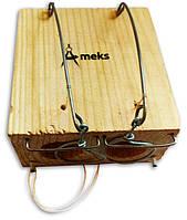 """Мышеловка """"Норка"""" на два отверстия, ловушка для мышей с двумя отверстиями деревянная механическая , фото 1"""