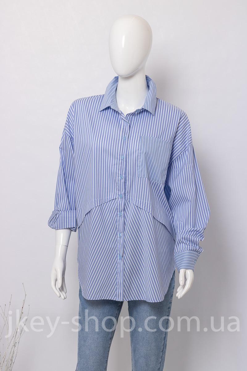 Блуза женская WIYA 10378-1 AZZURRO (BLUE)