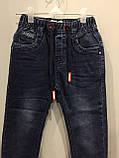 Джинсы для мальчика джоггеры 98,104 см, фото 2