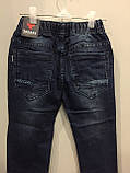 Джинсы для мальчика джоггеры 98,104 см, фото 5