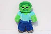 Мягкая игрушка Zombie Зомби из игри Minecraft Майнкрафт