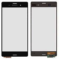Touchscreen (сенсорный экран) для Sony Xperia Z3 D6603, черный, оригинал