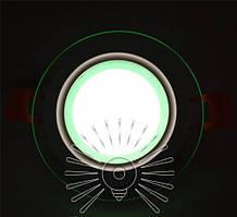 Встраиваемый LED Cветильник Сияние Lemanso LM1036 круг + стекло 6W 4500K + зеленый 450Lm
