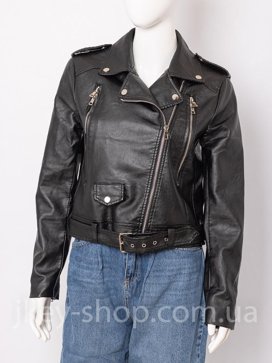 Куртка женская WIYA WH020 NERO (BLACK) косуха