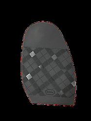 """Формованная подметка """"bsk"""" цвет черный толщина 180mmX120mmX1,5mm"""