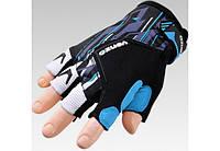 Перчатки VENZO VZ-F29-007 без пальцев M синие