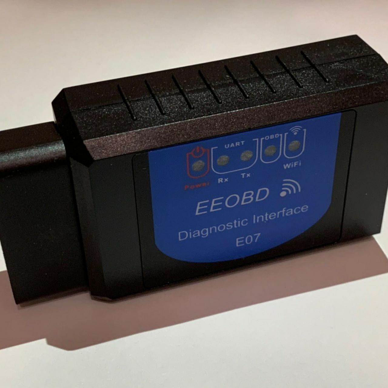 Автомобильный сканер автосканер диагностики авто OBD2 HLV ELM327