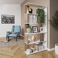 Стеллаж для дома, полка для книг из ДСП на 5 ячеек (7 ЦВЕТОВ) 800x1626x236 мм Возможны Ваши размеры