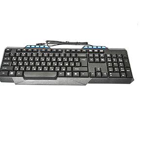 Клавиатура проводная Glacial USB 001 Black, игровая клавиатура, клавиатура для компьютера, фото 2