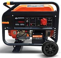 Бензиновый Электрогенератор Deawoo GDA 7500E-3 (Трехфазный)