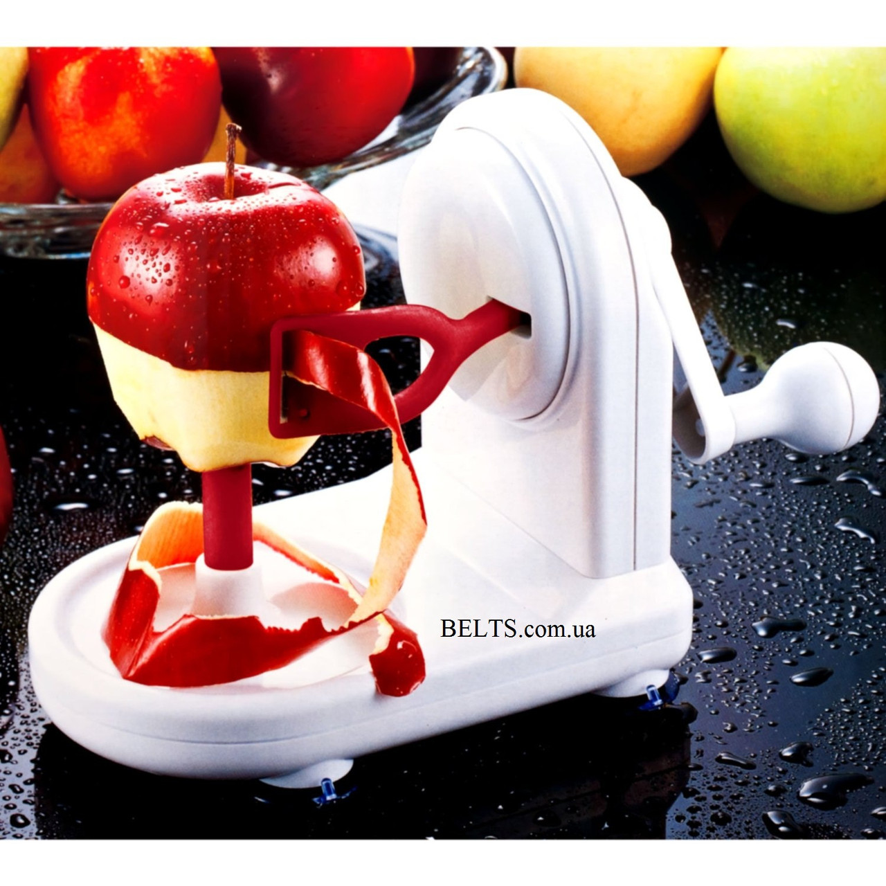 Ручная яблокочистка Apple Peeler, прибор для чистки яблок Эппл Пилер (яблокорезка)