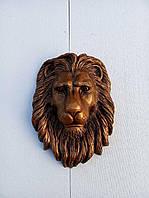 Голова льва на ворота 50*40 см