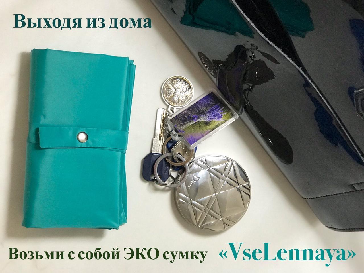 "Сумка для покупок. Сумка - пакет. Эко сумка ТМ ""Vselennaya""."