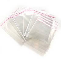 Упаковка Пакетики з клейкою стрічкою 100 шт (13.5 х 14 см)