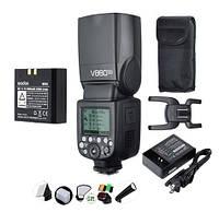 Вспышка GODOX V860IIC Canon Li-ion 11.1V 2000mAh  +наборцветных фильтров и отражателей