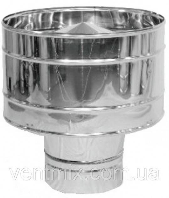 Дефлектор d 100 мм из нержавеющей стали (AISI 304)