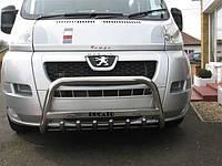 Защита переднего бампер (кенгурятник, бугель, дуга) Fiat Ducato 2006-2014
