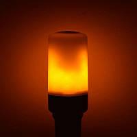 Декоративная лампа Пламя Horoz Fireflux 5W E27 3 режима