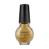 Лак для стемпинга Konad S52 Powdery Gold 11 мл