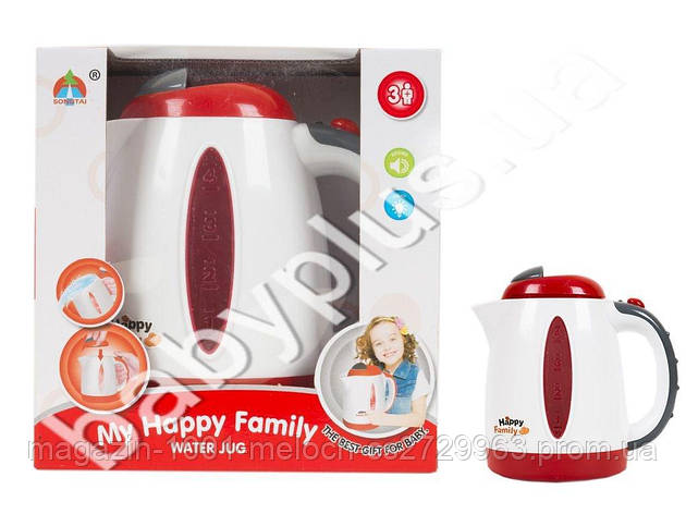Чайник на батарейке My Happy Family 18 см. 5205, фото 2