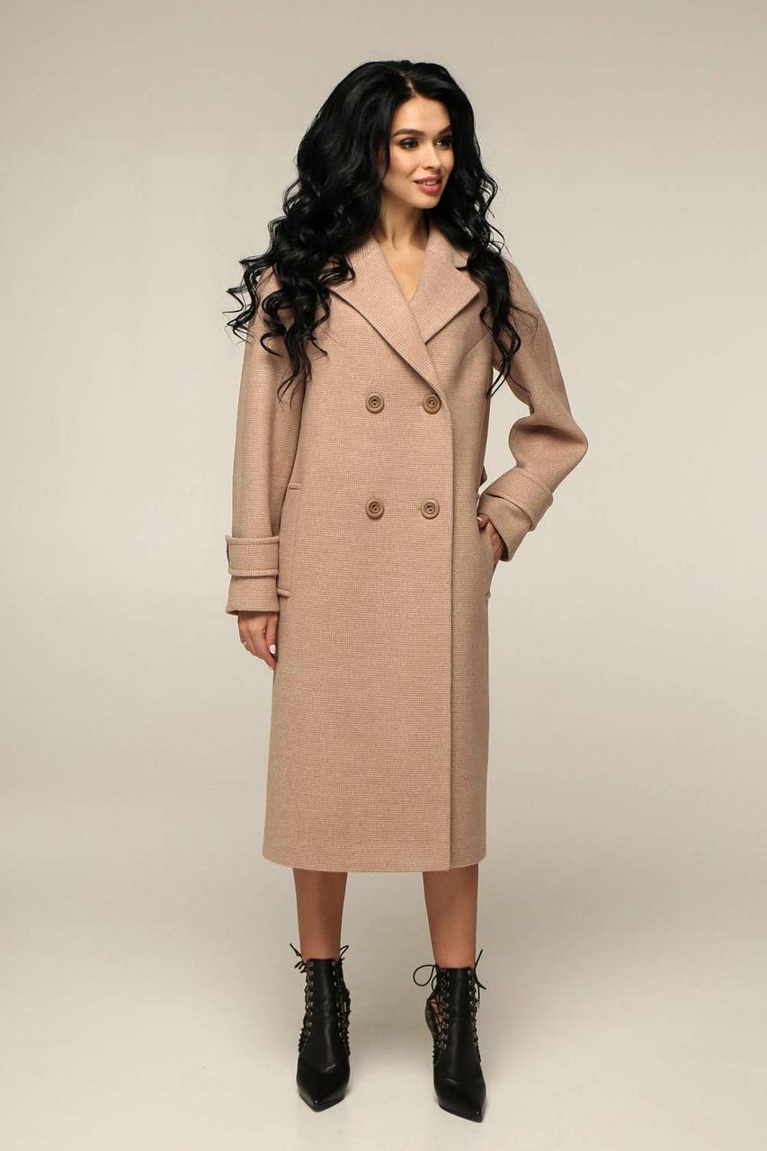 Пальто демісезонне з шерсті