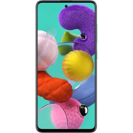 Смартфон Samsung Galaxy A51 2020 6/128GB White (SM-A515FZWW), фото 2