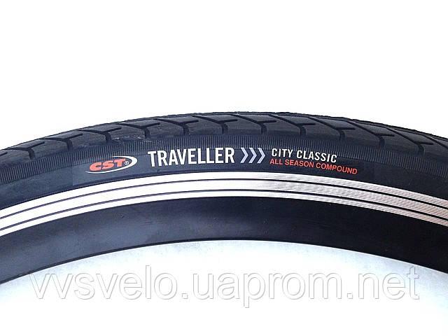 "Покрышка для велосипеда ""CST""TRAVELLER SITY CLASSIC 28, фото 1"