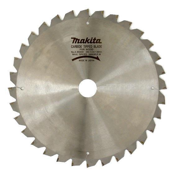 Пильный диск Makita по дереву 260x30 мм x 32 зуба (A-85008)