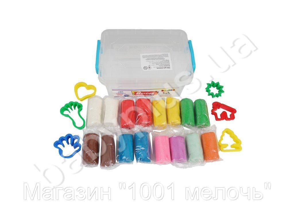 Набор массы для лепки 16 цветов по 50 гр. Eren E ERN-564